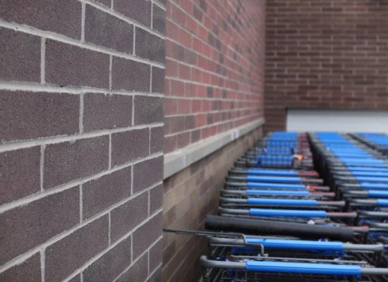 Walmart Brick Detail