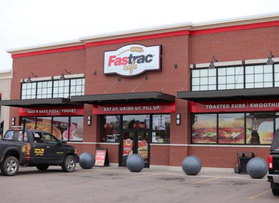 Fastrac Cafe Exterior