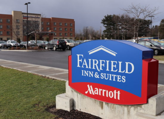 Fairfield Inn & Suites Marriott Sign