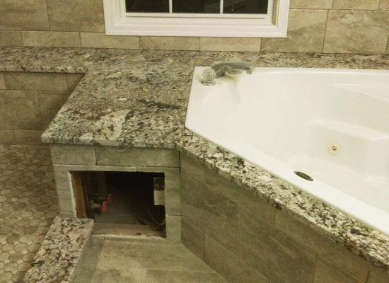 Bathroom Granite & Tile
