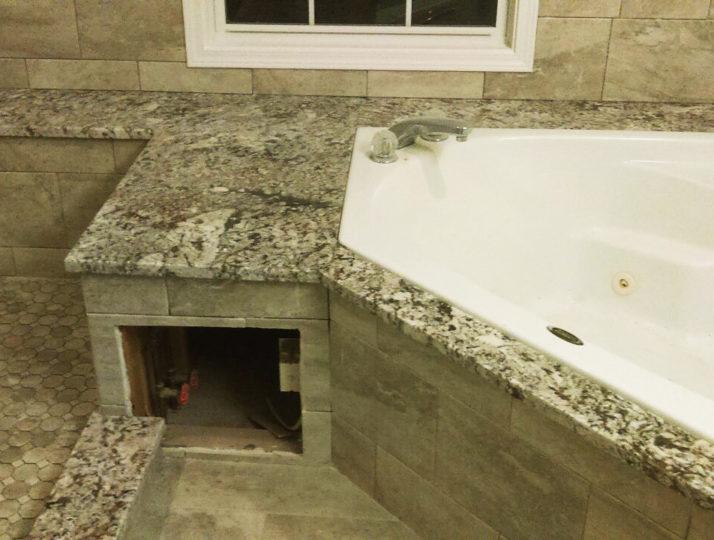 Bathroom Granite & Tile